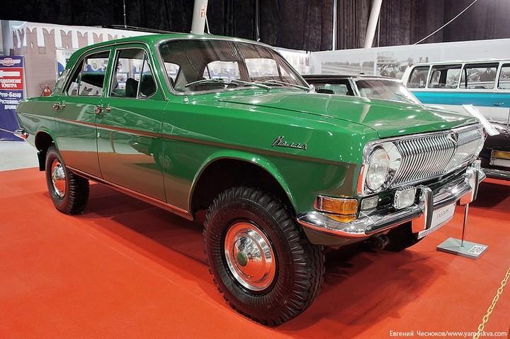 Выставка автомобилей Гаража особого назначения (19)