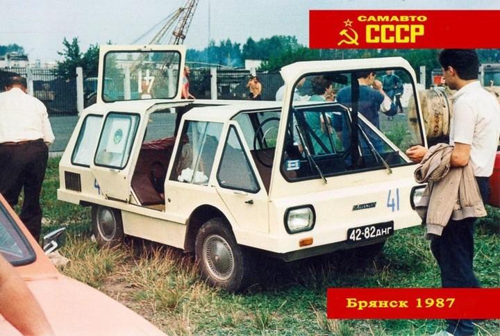 Всесоюзный слет самодельных автомобилей. Брянск, 1987 год (24)