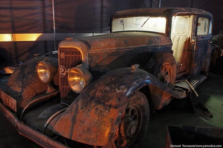 Выставка автомобилей Гаража особого назначения (35)