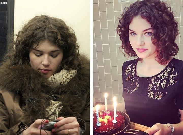 Питерский фотограф сравнил пассажиров метро с их профилями «ВКонтакте» (1)