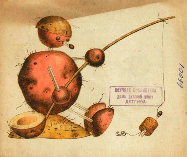 Игрушки из картошки 1931 год (10)
