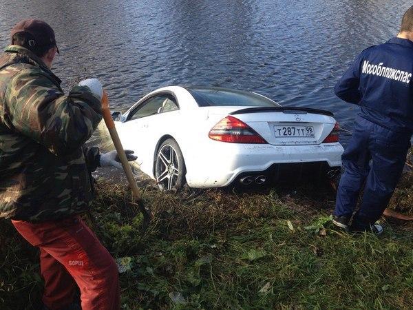 Как поймать рыбу с помощью Mercedes (2)
