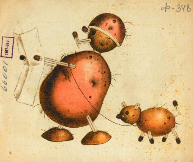 Игрушки из картошки 1931 год (3)