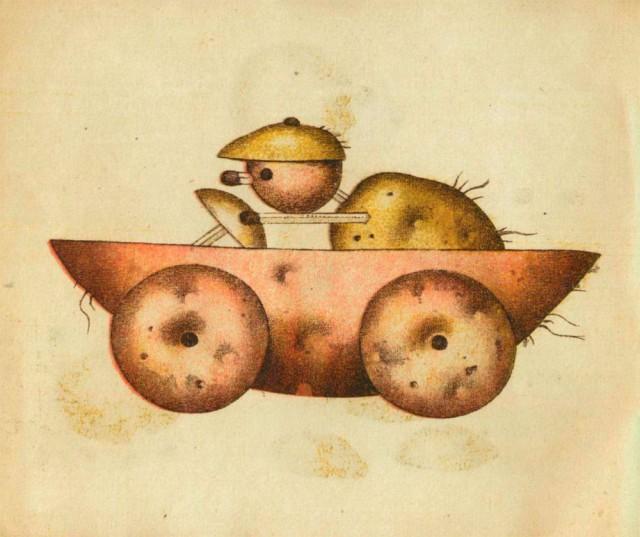 Игрушки из картошки 1931 год (4)