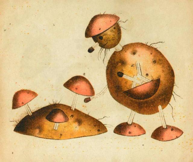Игрушки из картошки 1931 год (7)