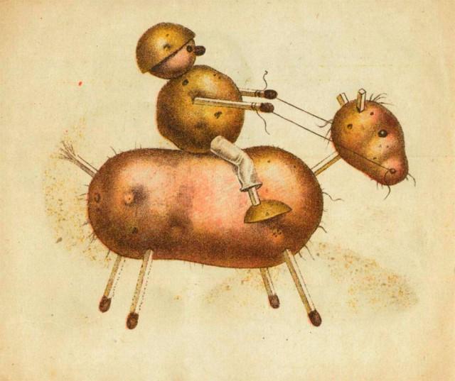 Игрушки из картошки 1931 год (8)