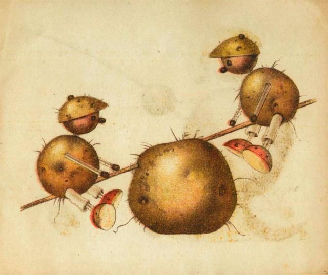 Игрушки из картошки 1931 год (9)
