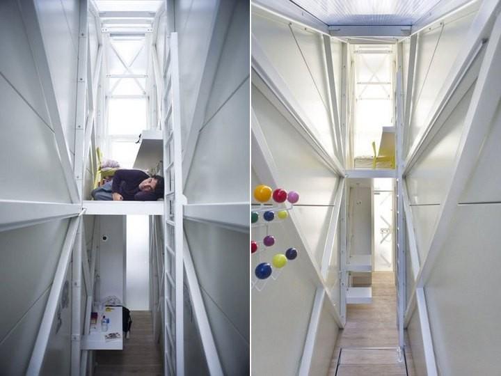 Самый узкий дом в мире (5)
