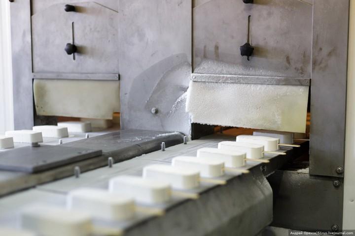 Как делают мороженое. Хладокомбинат «Заречный» (21)