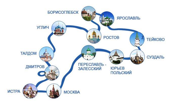 """""""Золотое Кольцо"""" — самый популярный туристический маршрут России (1)"""