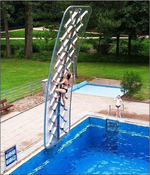 Крутая стенка для бассейна