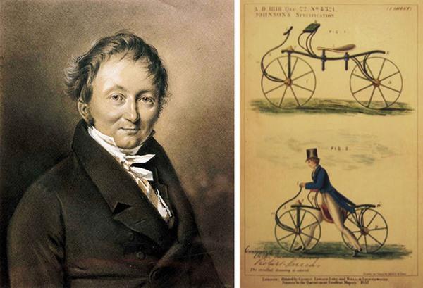 Кто и когда изобрел велосипед? (2)