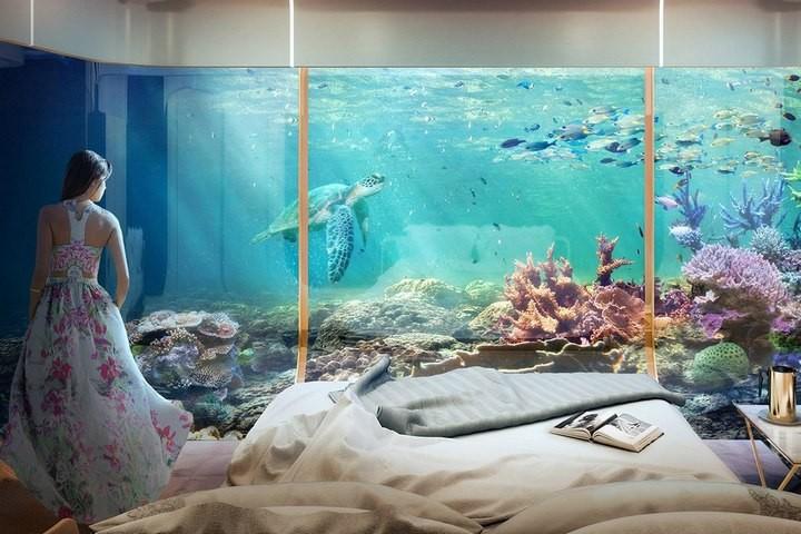 У побережья Дубая появятся удивительные плавучие виллы (3)