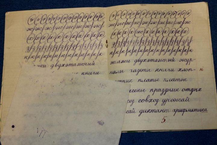Образец чистописания и каллиграфии (3)