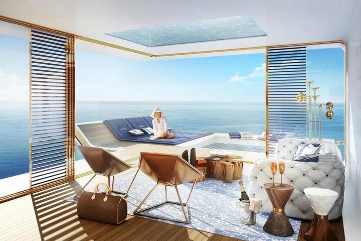 У побережья Дубая появятся удивительные плавучие виллы (4)
