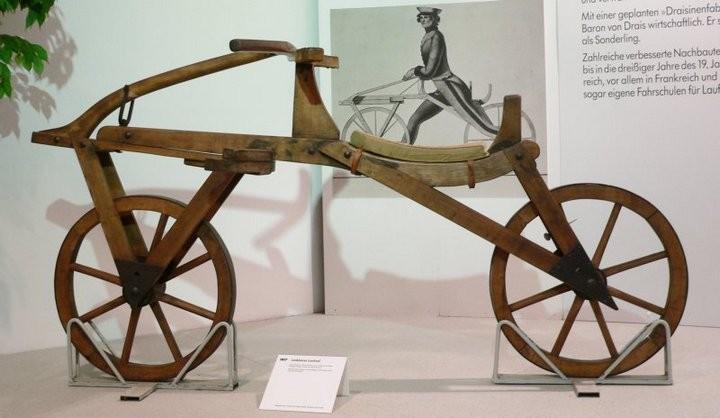 Кто и когда изобрел велосипед? (4)