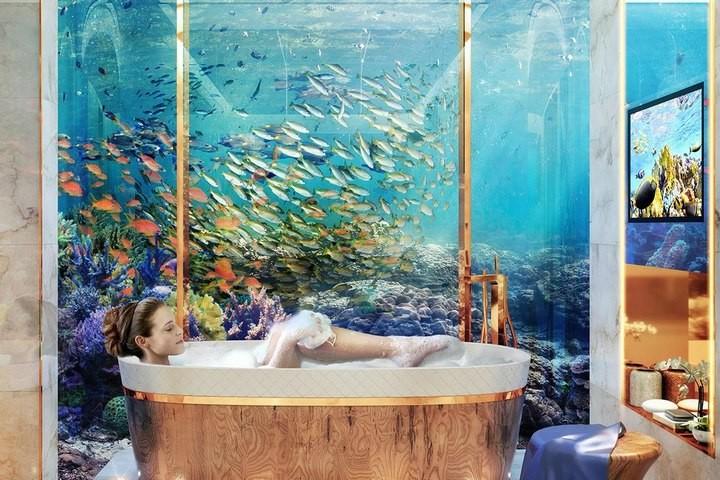 У побережья Дубая появятся удивительные плавучие виллы (5)