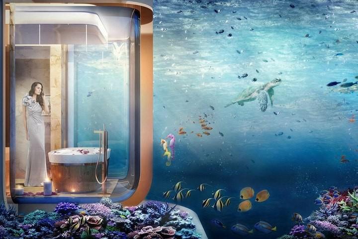 У побережья Дубая появятся удивительные плавучие виллы (6)