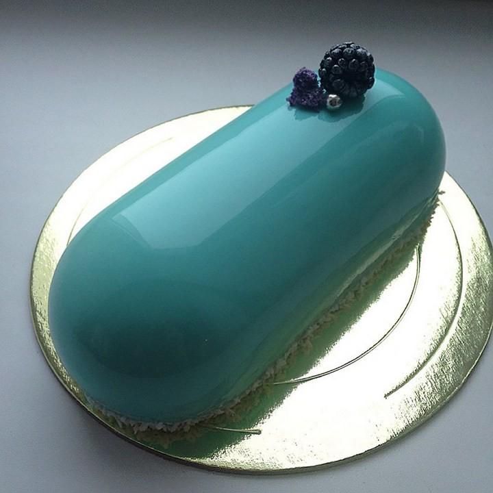 Кондитер из России создает мраморные торты, которые покорили весь мир! (10)