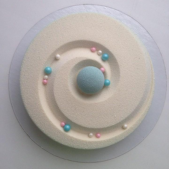 Кондитер из России создает мраморные торты, которые покорили весь мир! (4)