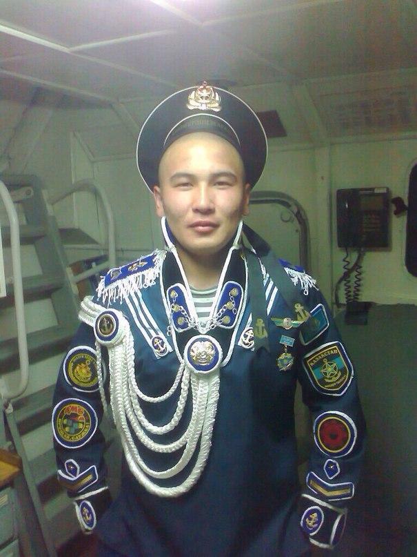 Казахский дембель возвращается домой (10)