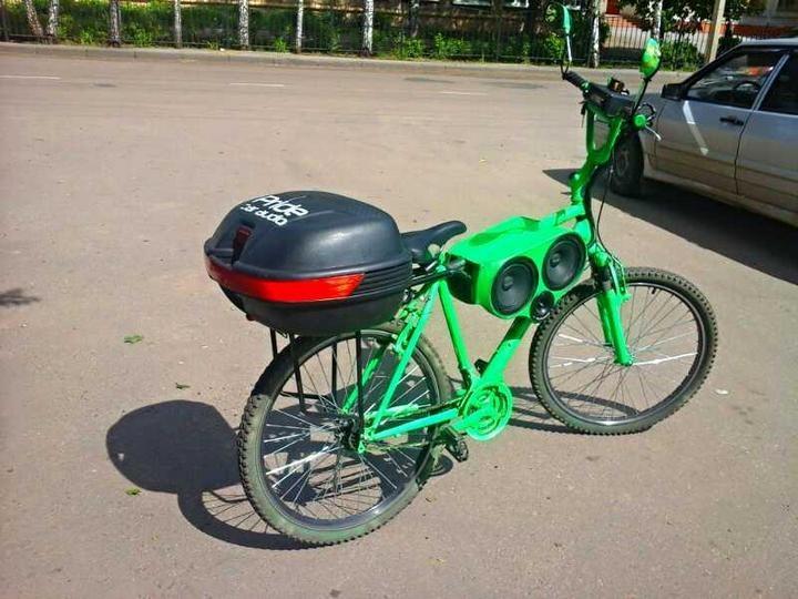 Реальный пацанский велозвук (3)