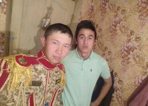 Казахский дембель возвращается домой (5)