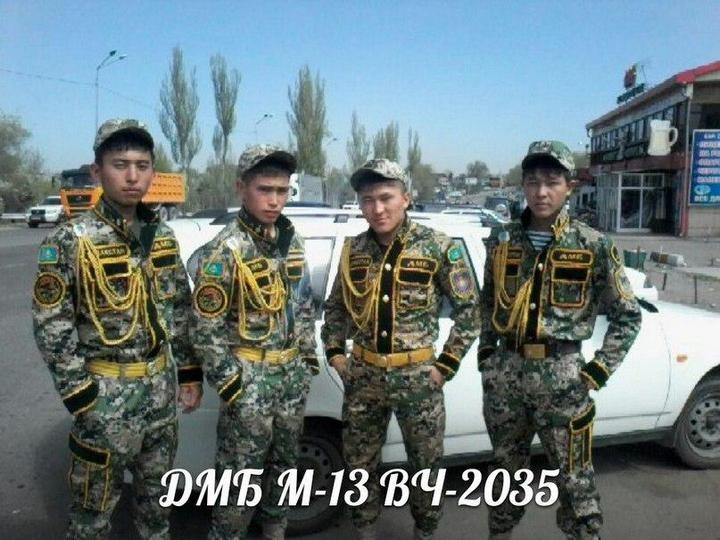 Казахский дембель возвращается домой (7)