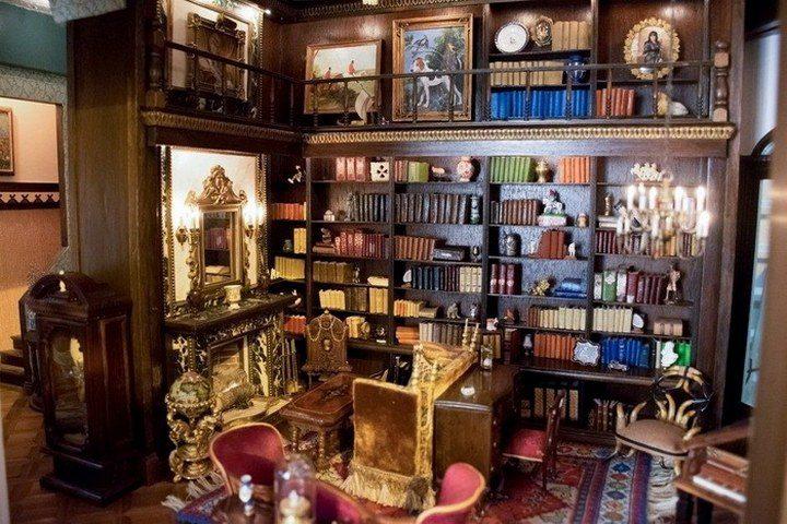 Кукольный домик за $8,5 млн: роскошное искусство миниатюры (13)