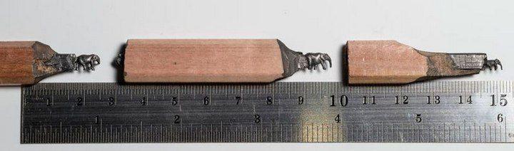 Кажется невероятным, но это действительно вырезано из карандаша (6)