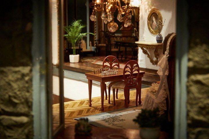 Кукольный домик за $8,5 млн: роскошное искусство миниатюры (9)