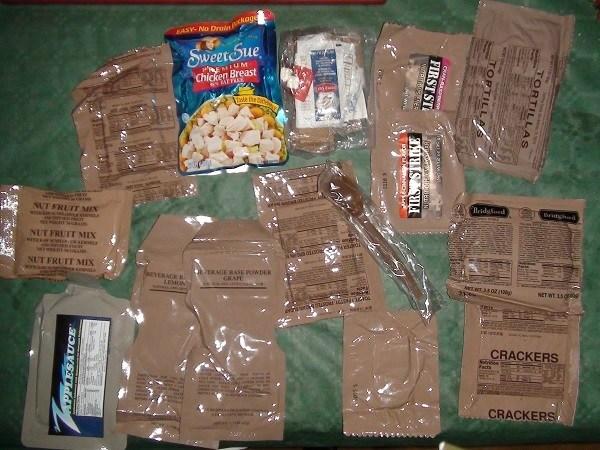 Что едят солдаты разных стран в бою? История армейских сухпайков (16)