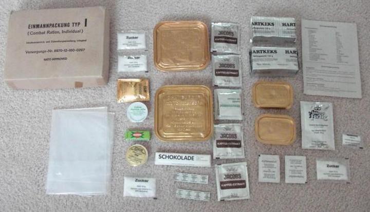 Что едят солдаты разных стран в бою? История армейских сухпайков (19)
