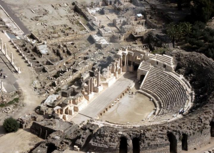 Прогулка к Воротам Рая: Бейт-Шеан (1)