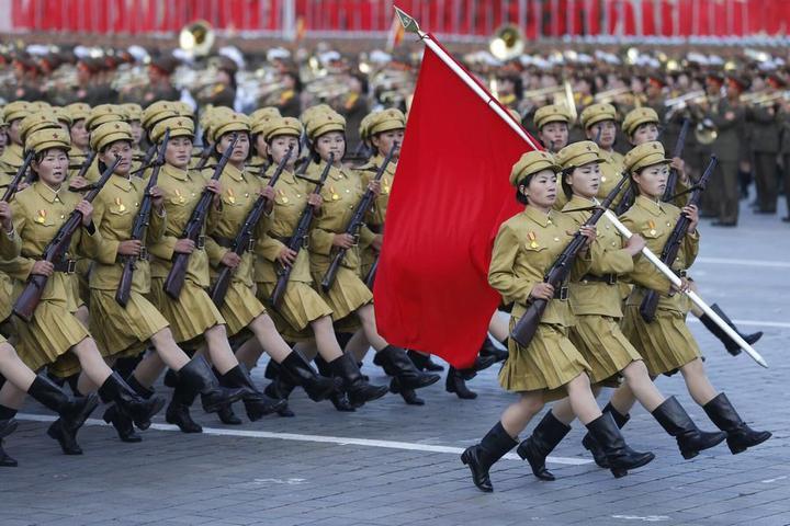 Кадры из повседневной жизни в Северной Корее (19)
