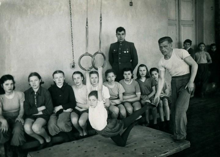 Спорт в послевоенной России. Гимнастика (1)