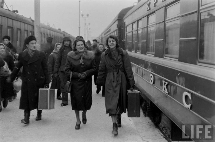 Туристы из Америки в Ленинграде 1956 г (2)