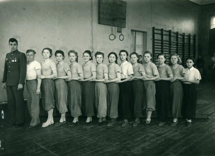 Спорт в послевоенной России. Гимнастика (3)