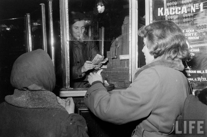Туристы из Америки в Ленинграде 1956 г (3)