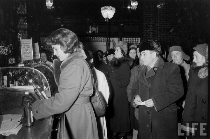 Туристы из Америки в Ленинграде 1956 г (4)