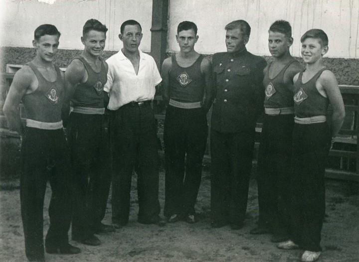 Спорт в послевоенной России. Гимнастика (5)