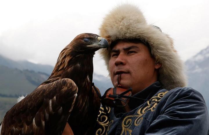 Церемония открытия Всемирных игр кочевников в Кыргызстане (5)
