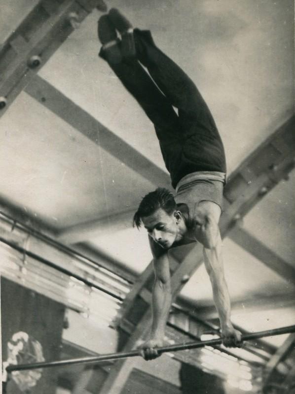 Спорт в послевоенной России. Гимнастика (6)