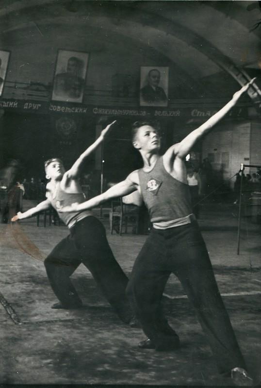 Спорт в послевоенной России. Гимнастика (7)