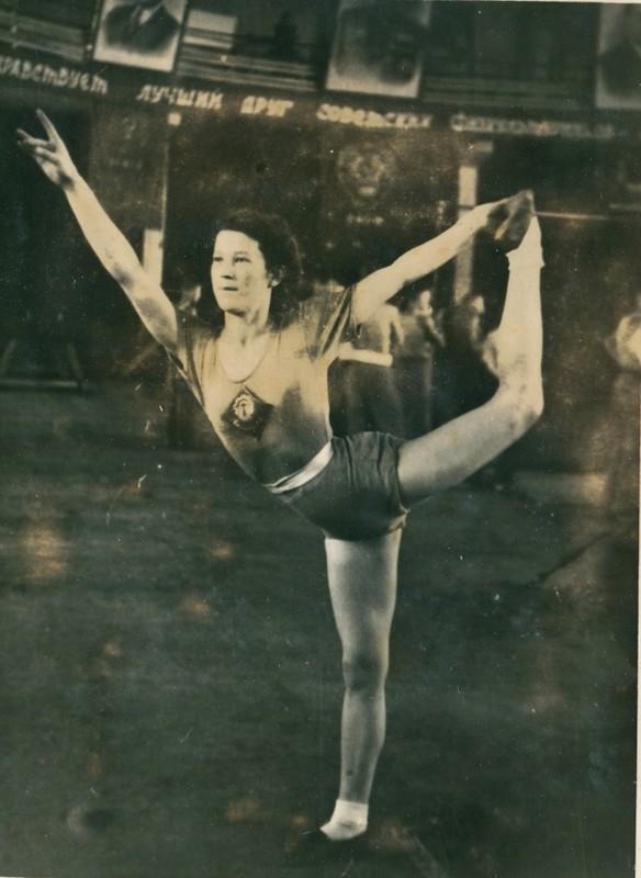 Спорт в послевоенной России. Гимнастика (8)