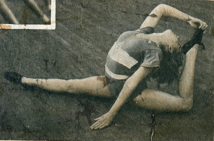 Спорт в послевоенной России. Гимнастика (9)