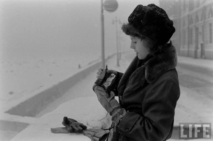 Туристы из Америки в Ленинграде 1956 г (9)