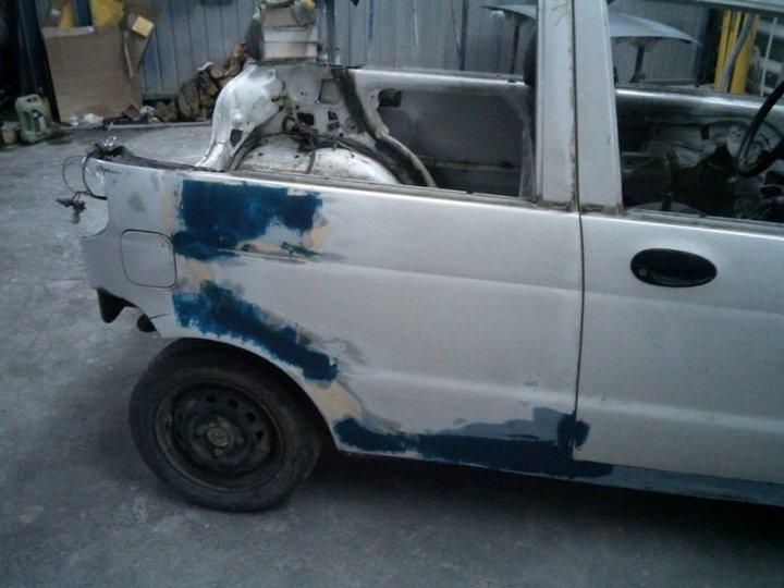 Пикап из Daewoo Matiz (9)