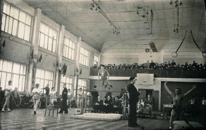Спорт в послевоенной России. Гимнастика (10)
