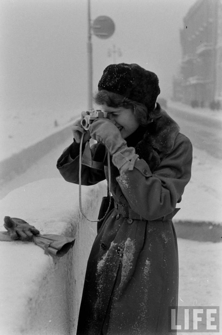 Туристы из Америки в Ленинграде 1956 г (10)